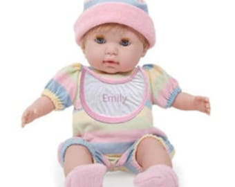 Personalized Huggable Soft Body Blonde Doll