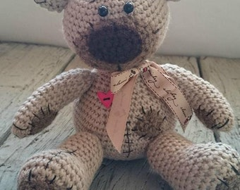 Hand made crochet Tedy bear