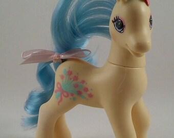 My Little Pony G2 Custom Sweetheart Sister - Frilly Flower G1 SHS