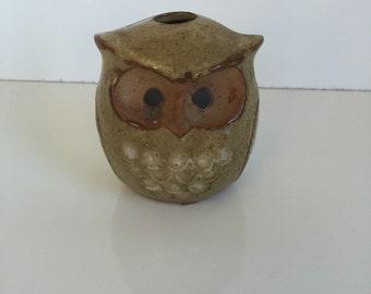 Vintage Owl Vase or Incense Burner Seymour Mann Japan