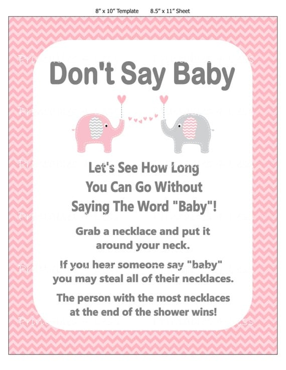 say baby game clothespin game diaper pin game necklace baby game
