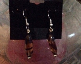 Tigerstriped Earings