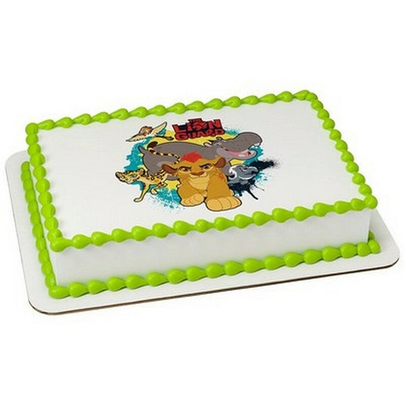 Lion Guard Licensed Birthday Edible Cake and by ArtofEricGunty