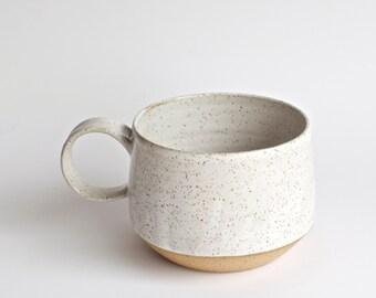 Latte Mug *READY TO SHIP *  Handmade Pottery Mugs - Ceramic Cups - Rustic -  Ceramic Mugs - Coffee Mugs - Hot Chocolate Mugs - Rustic Mugs