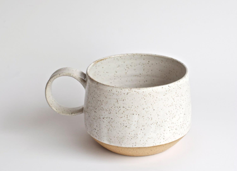 Latte Mug READY TO SHIP Handmade Pottery Mugs Ceramic