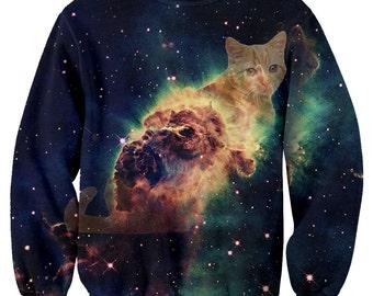 Cat Galaxy Sweater