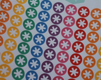 Planner Icon Stickers Asterisk