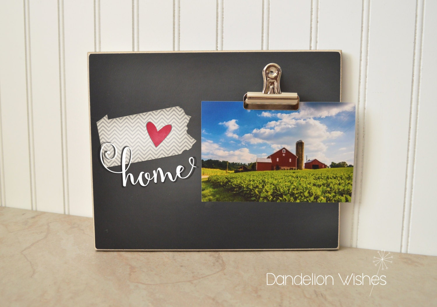 Home State Picture Frame Housewarming Gift Moving Gift