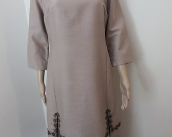 Vintage 1960's 'Peggy French' Dress