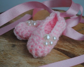 Pearl Pink Ballet Slippers