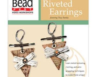 Riveted Earrings - DVD (VT2523)