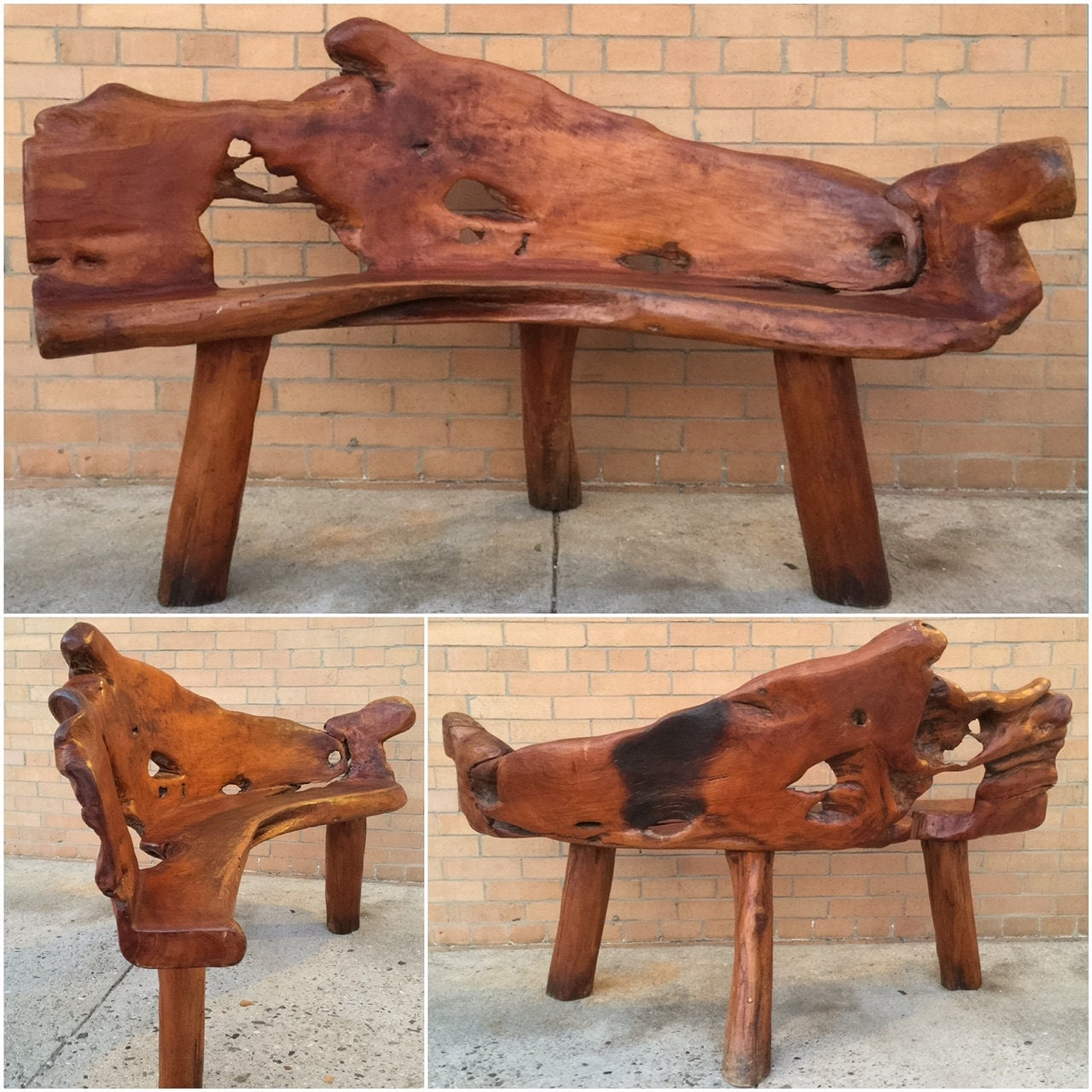 Antique wooden bench for sale quick woodworking projects Wooden bench for sale