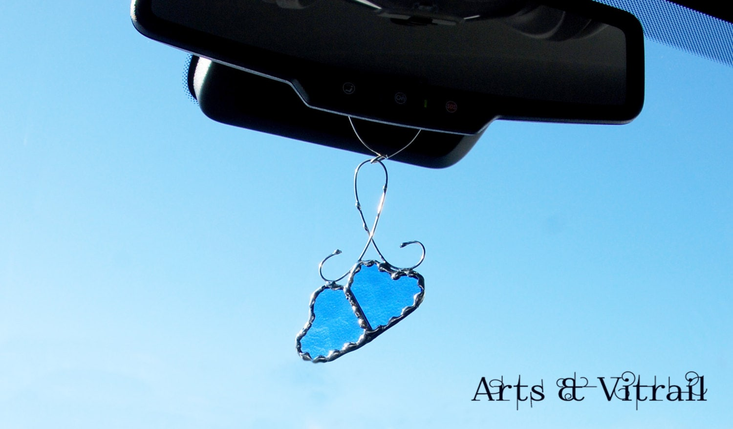 heart accessories mirror car mirror hanging jewelry car charm. Black Bedroom Furniture Sets. Home Design Ideas