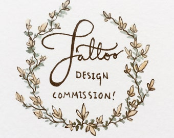 Tattoo design commission