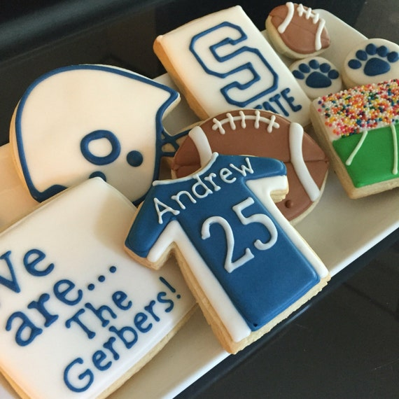 College Football Cookies