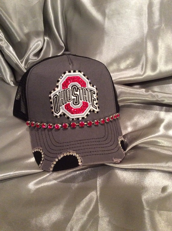 Bling trucker hats hats bling hat bling trucker hat womens for Red hat bling jewelry