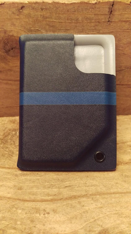 Kydex Pocket Wallet And Badge Holder Police Thin Blue