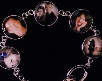 Personalized photo bracelets