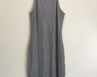 grey mini dress / 8