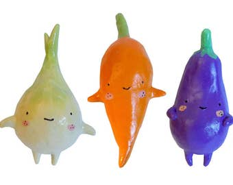 Adorable Veggie Ornaments