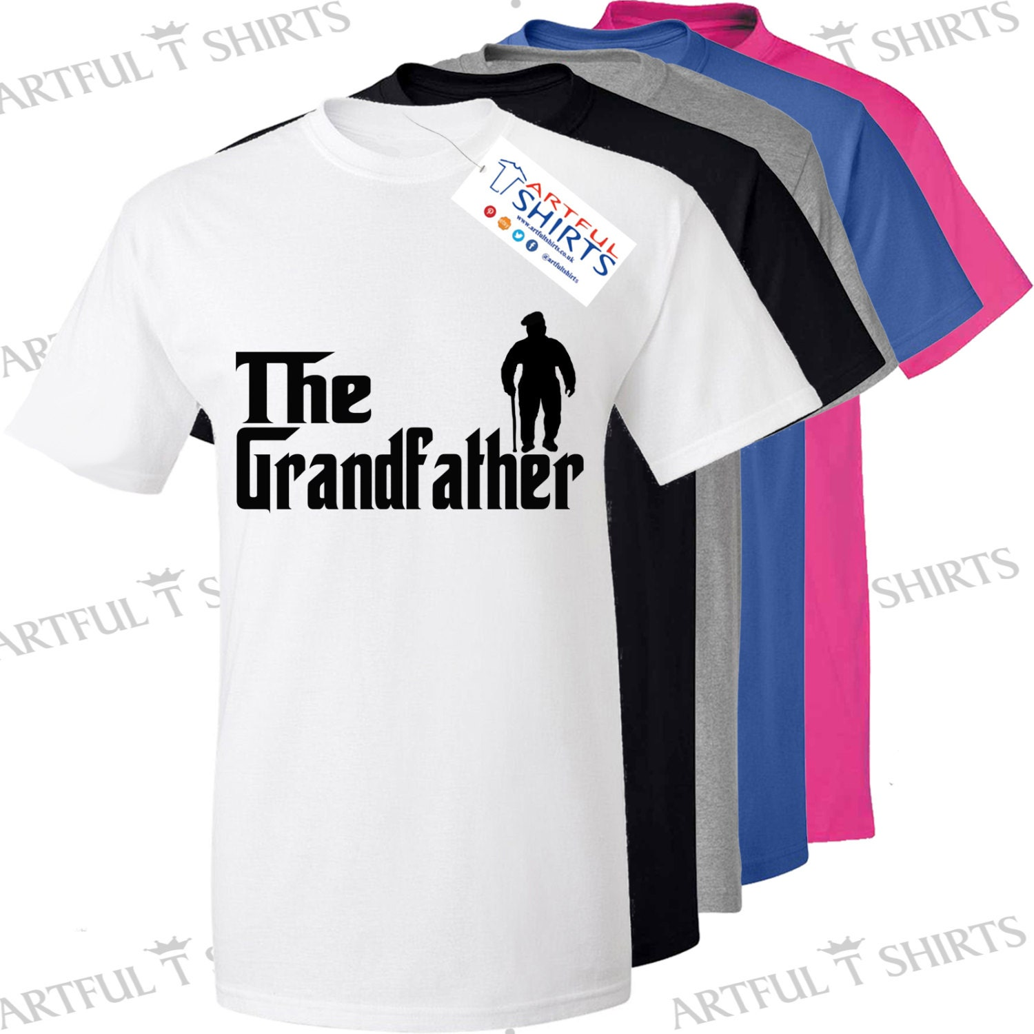 The grandfather fishing t shirt brand new men 39 s gifts for for Fishing t shirts brands