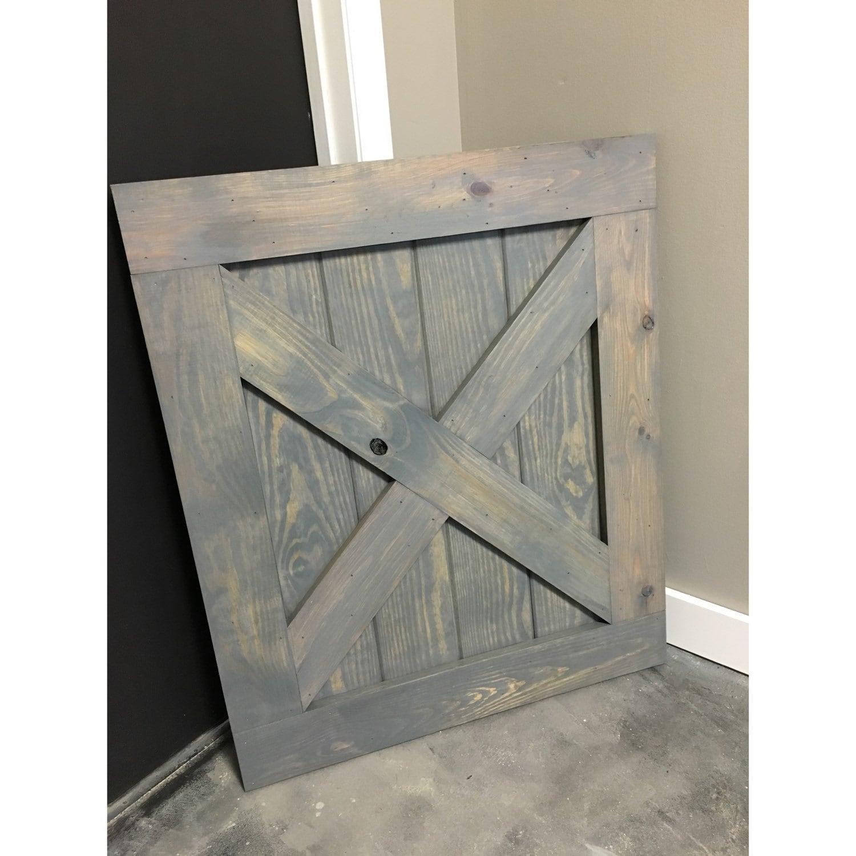 Custom Built Barn Door Style Baby Gate Classic