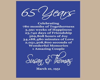 Collections of 65th Wedding Anniversary Poems, - Valentine Love Quotes