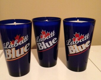 Labatt Blue Container Soy Candle (14 oz)