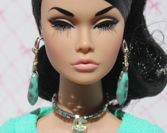 doll jewelry set for Fashion Royalty, Poppy Parker