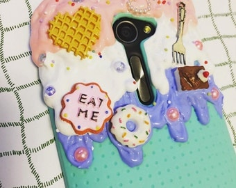 Melting Ice Cream Custom Sweets Deco Kawaii Decoden Phone Case