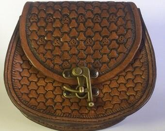 Tri-weave Round Belt Bag