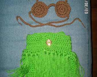 Little Hula Girl Outfit
