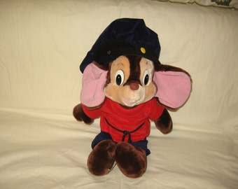 vintage 1986 caltoys sears an american tale 24 inch fievel mouse plush doll