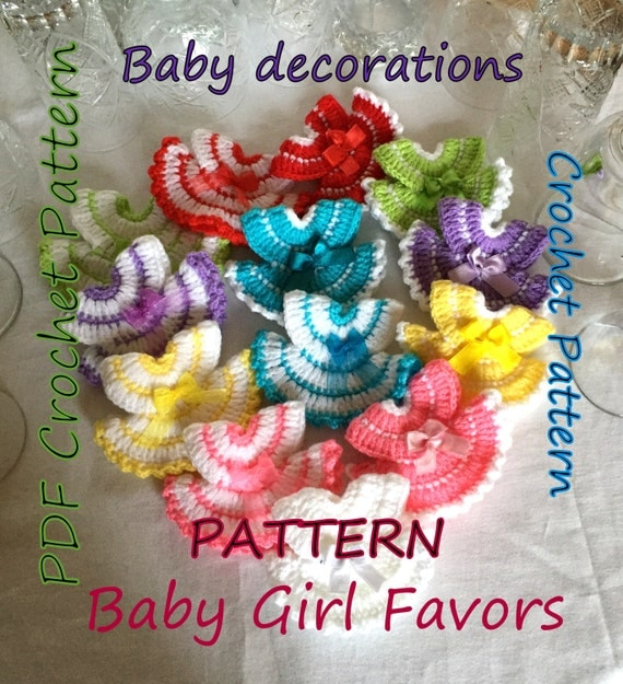 pattern miniature dress favors for party and baby shower, little, Baby shower invitation