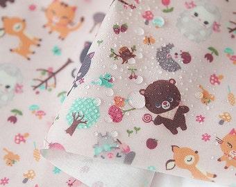 Laminated Cotton Fabric,Waterproof,happy sewing,fabricKorea,Baby Bib,picnic mat,tablecloth,Raincoat,By the yard.(Ju-L377)