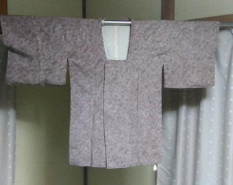 CLEARANCE!! Women's Silk Haori (Kimono Coat), Japanese vintage traditional kimono coat