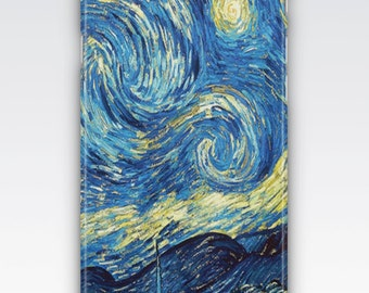 iPhone 6s Case, iPhone 6 Plus Case, iPhone 5s Case, iPhone SE Case, iPhone 5c Case, iPhone 7 case - The Starry Night by Vincent Van Gogh