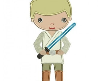 Looks like Luke Skywalker Birthday shirt, Personalize with name and number Great for those birthday pictures and a special keepsake