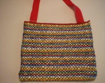 Plastic Bag Yarn Purse