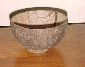 Natural Coconut Cup with Base, Natural Coconut Shells, Coconut Cups, Real Coconut, Coconut Shell