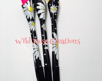 Duct Tape Pen-Daisy Print