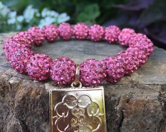 Pink Elise bracelet
