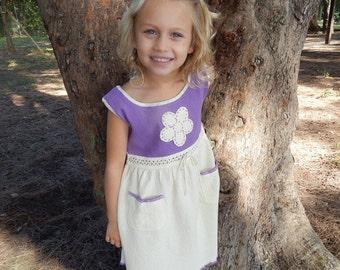 Girl Ecologic Cotton Dress