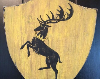 House Baratheon Game of Thrones banner
