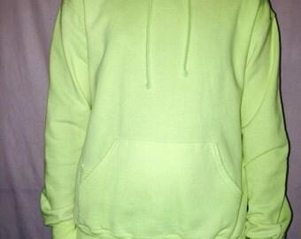 Yellow Hoodie, UV reactive, UV hoodie, blacklight tee, Lazerglo