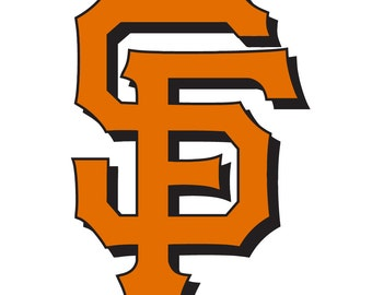 San Francisco Giants 3D Decal Sticker 2 Color