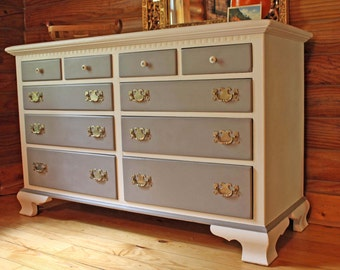 Customized dresser, painted to order, bureau, chest of drawers, bedroom, TV stand, changing table