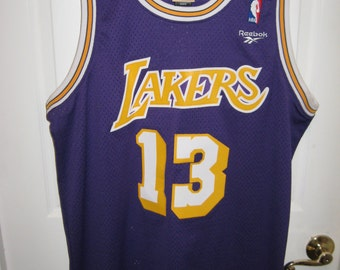 vintage los angeles lakers medium size jersey#13  Wilt Chamberlin nice