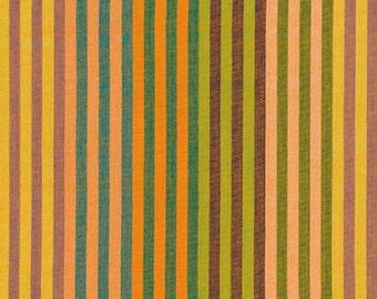 1/2 yard of Kaffe Fassett Caterpillar Sunshine Striped  Fabric
