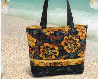 Tuscany Tote  Pattern by Pink Sand Beach Designs